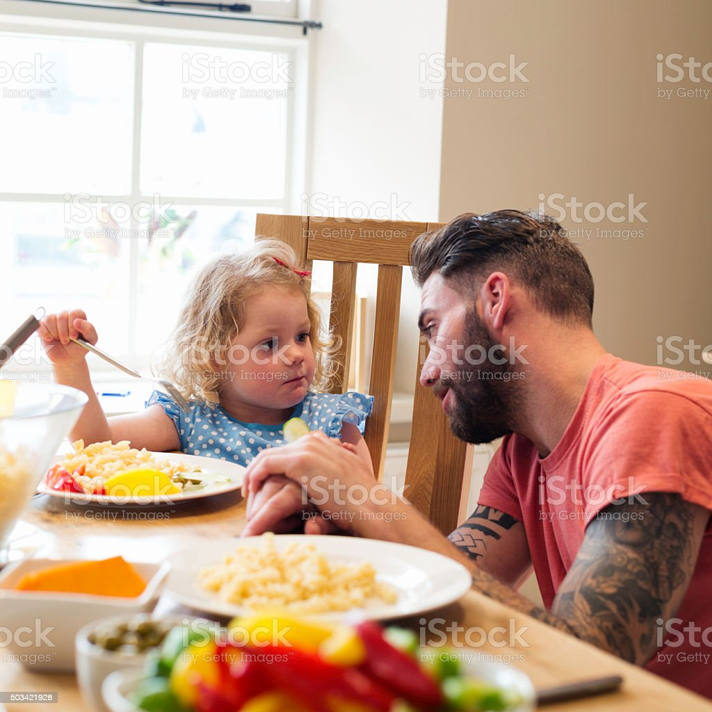 Are you going to eat that all up? stock photo