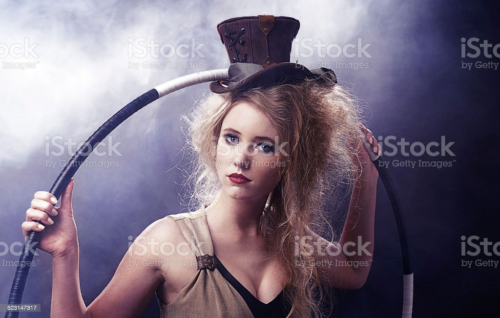 Are you ready for the show of your dreams? stock photo