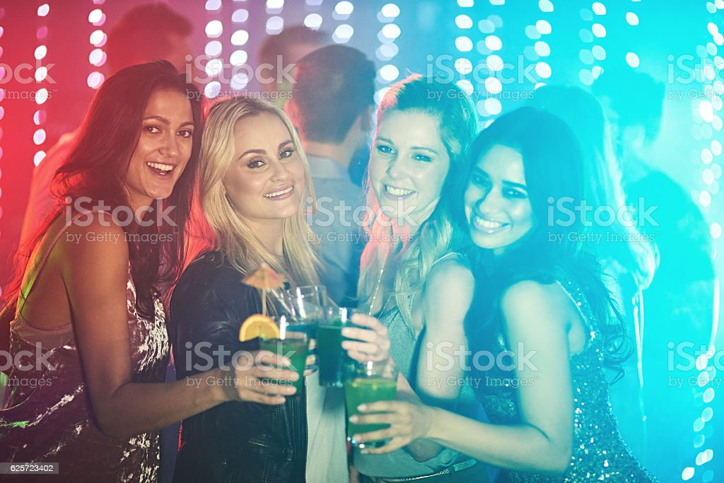 Are you ready to party? stock photo