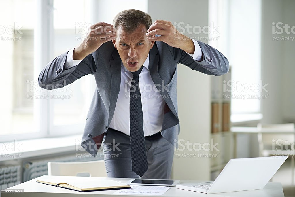 Are you stupid or something?! stock photo
