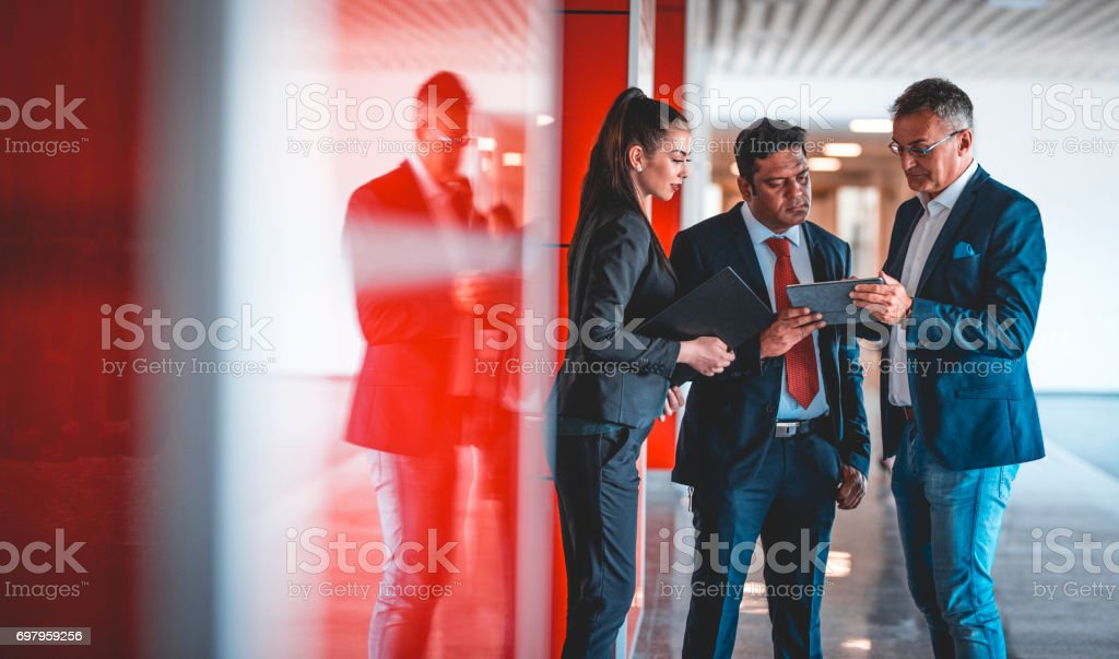 Are you sure about this company? stock photo