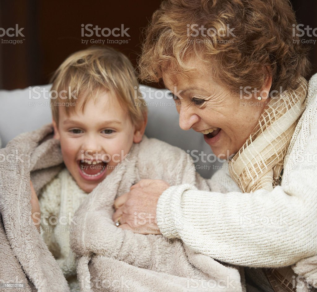 Are you ticklish? royalty-free stock photo