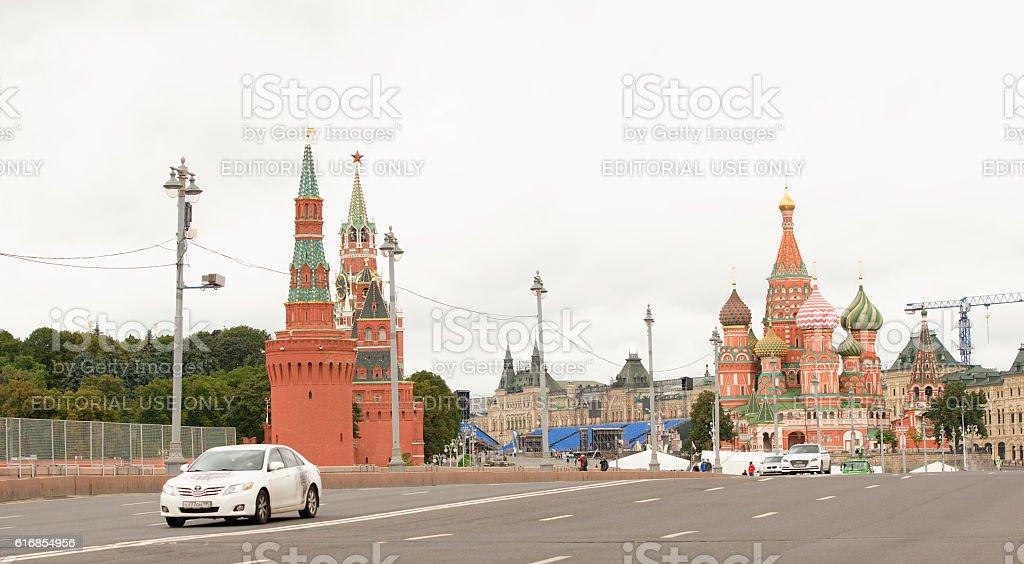 Area Vasilevsky descent stock photo