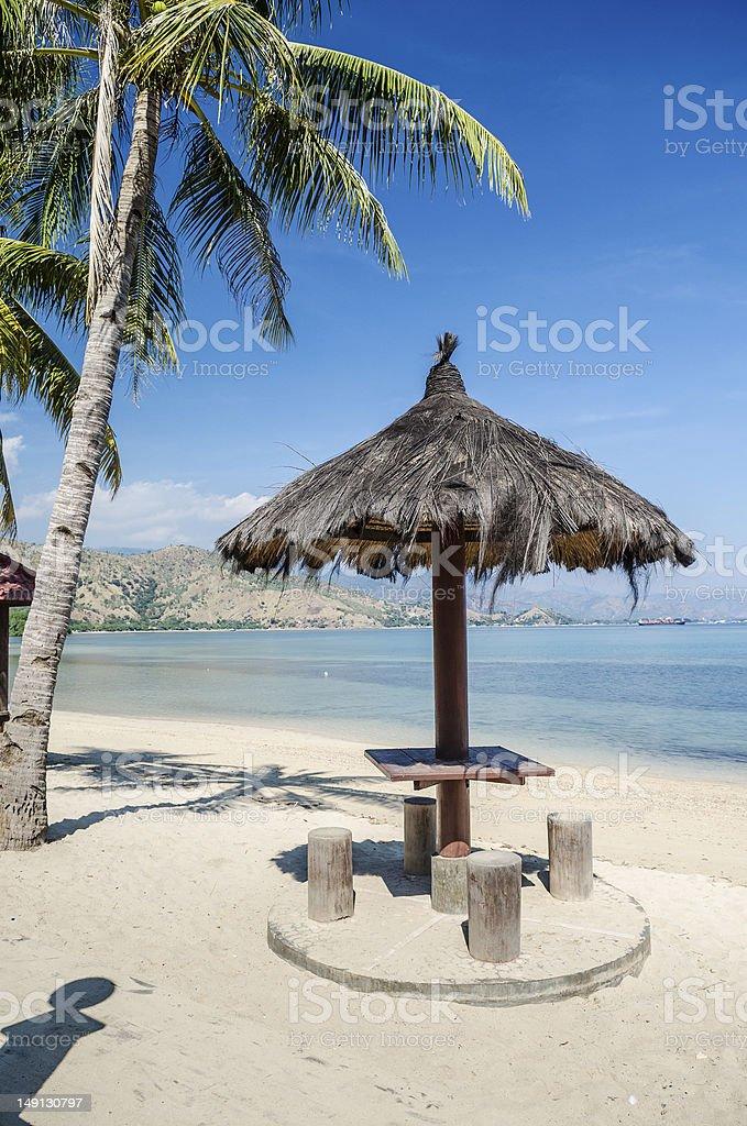 areia branca beach near dili east timor stock photo