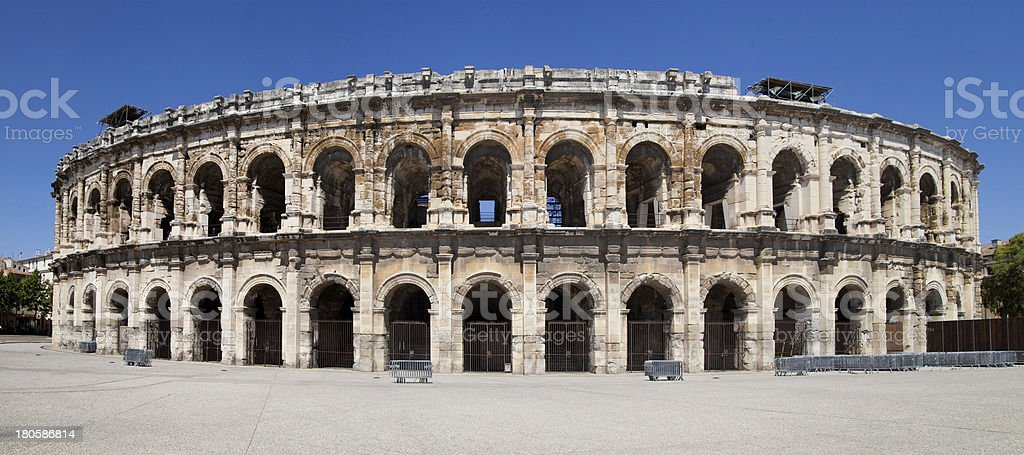 Arena of Nimes royalty-free stock photo