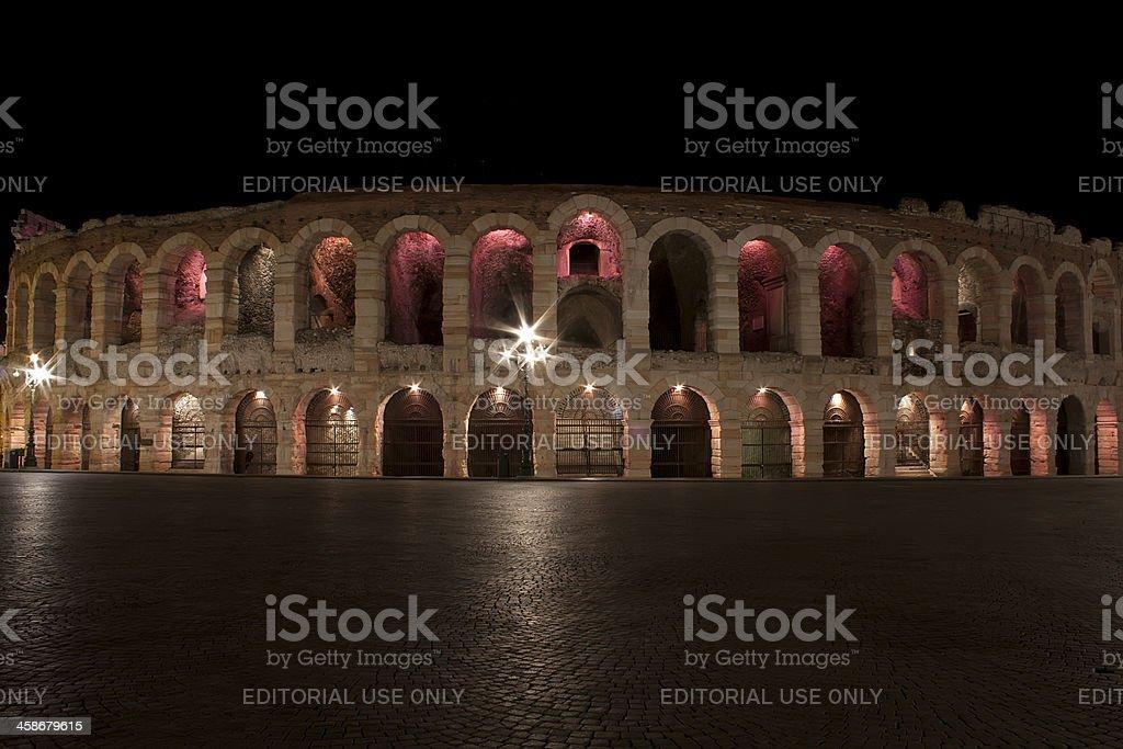 Arena of Verona in Italy ! royalty-free stock photo