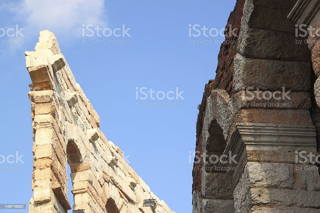 Arena of Verona, Italy royalty-free stock photo