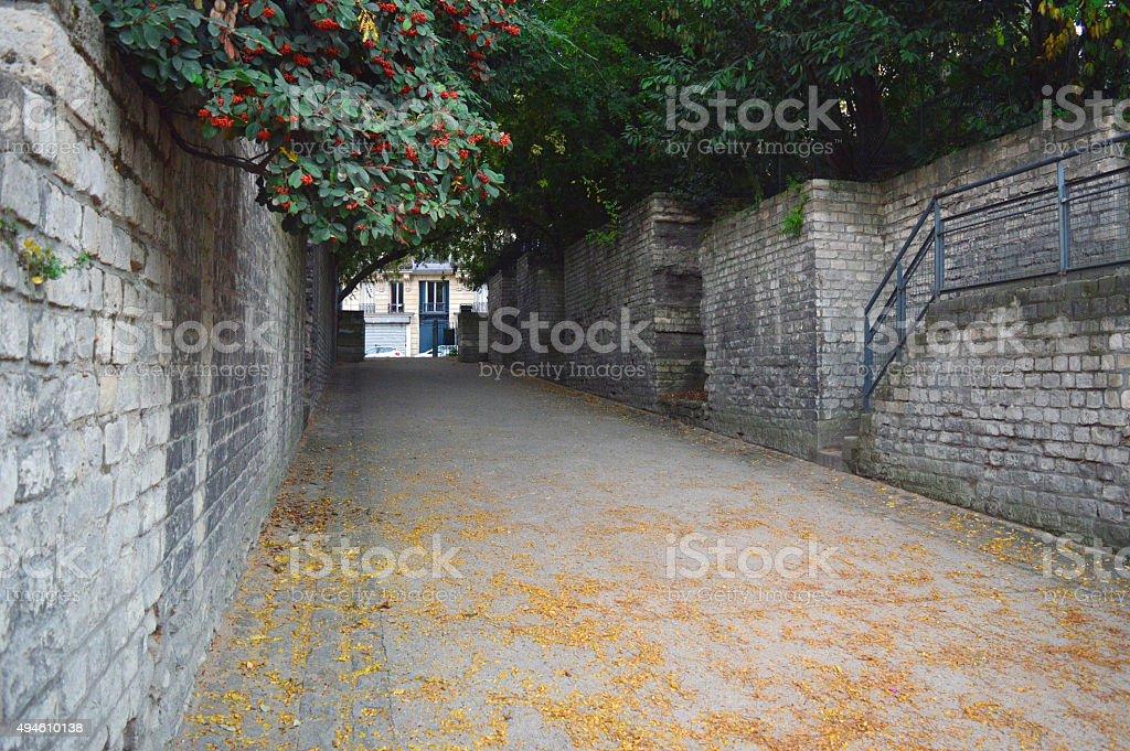 Arena Tunnel de Lutece stock photo