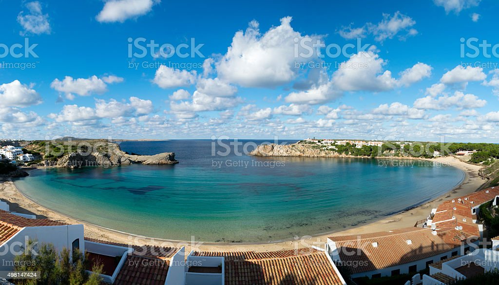 Arenal d'en Castell stock photo