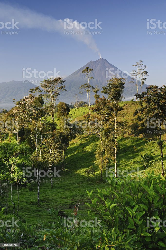 Arenal from Monterey stock photo