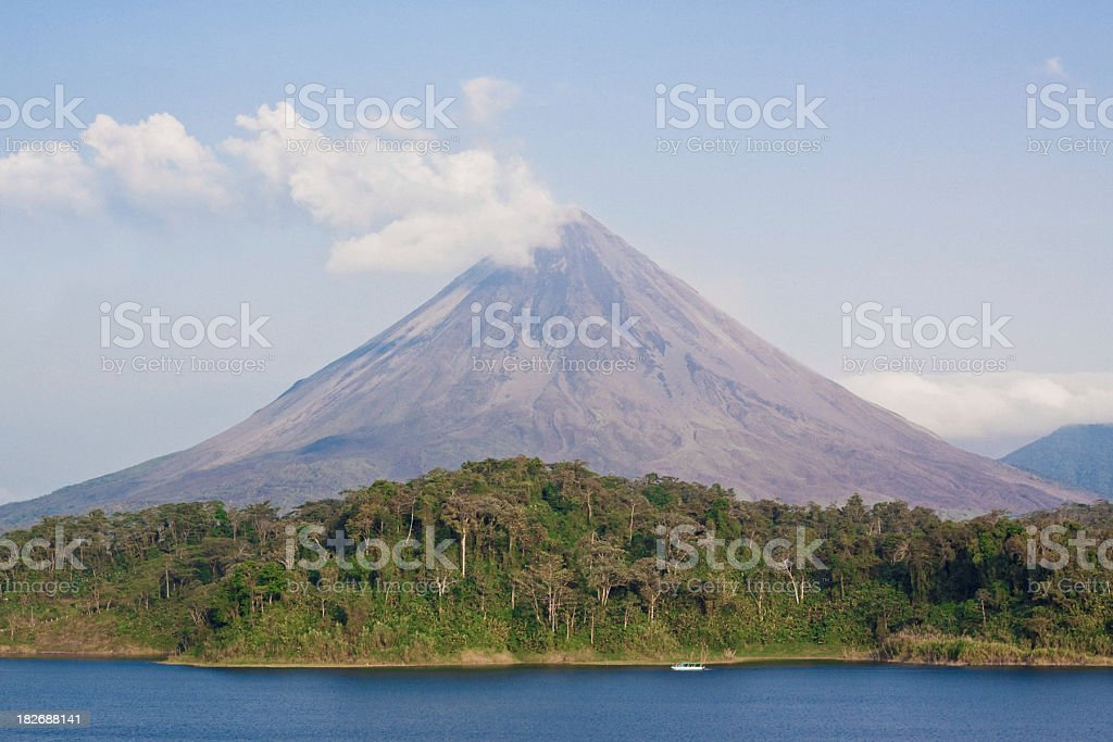 Arenal stock photo