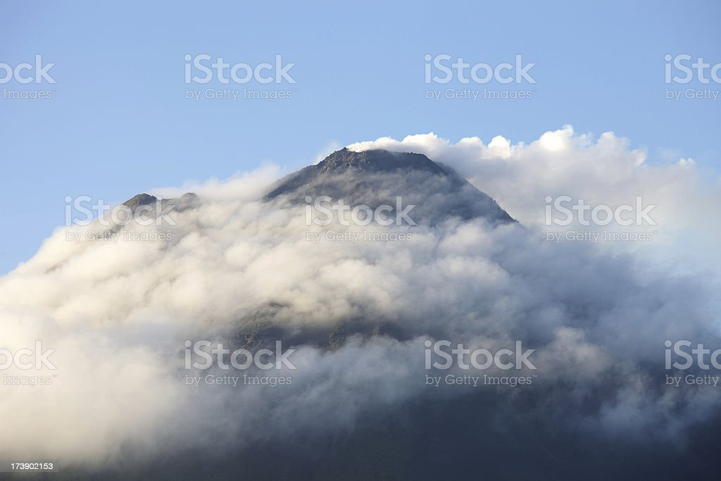 Arenal, the Active Volcano in Costa Rica royalty-free stock photo