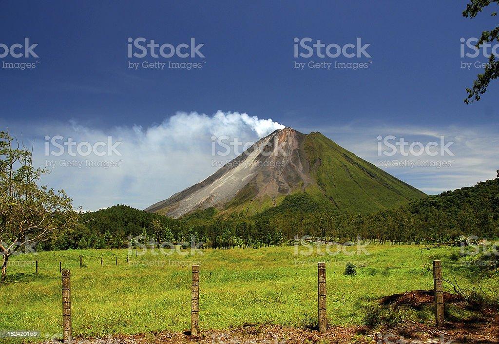 Arenal Volcano - Costa Rica stock photo