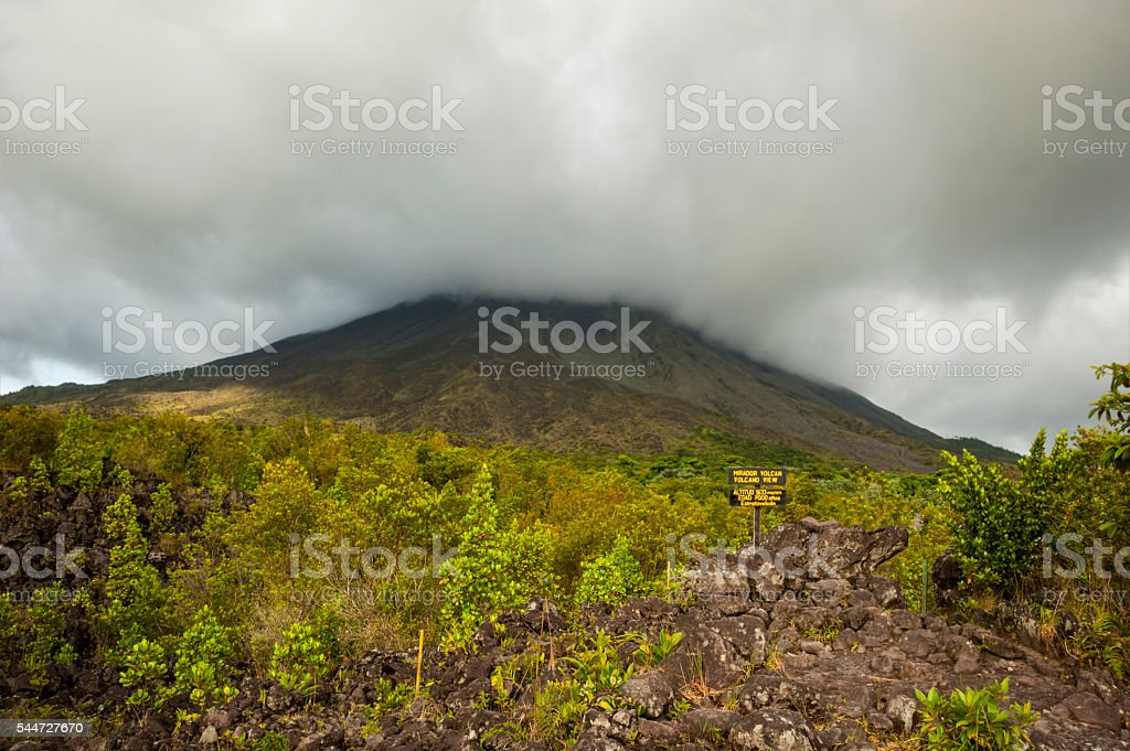 Arenal Volcano stock photo