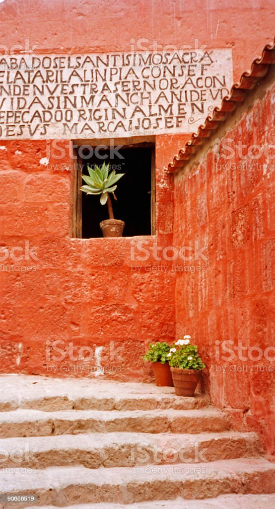 arequipa old spanish colonial architecture peru royalty-free stock photo