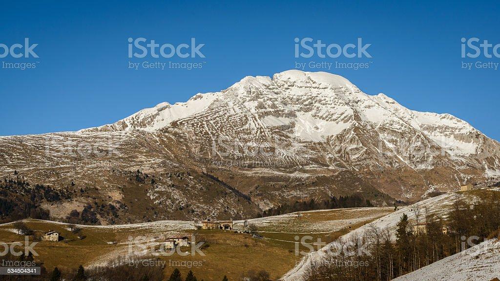 Arera Mountain stock photo