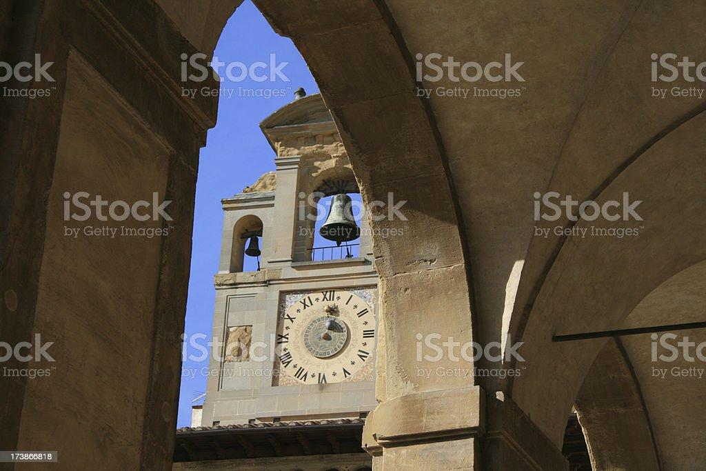 Arezzo, Italy royalty-free stock photo