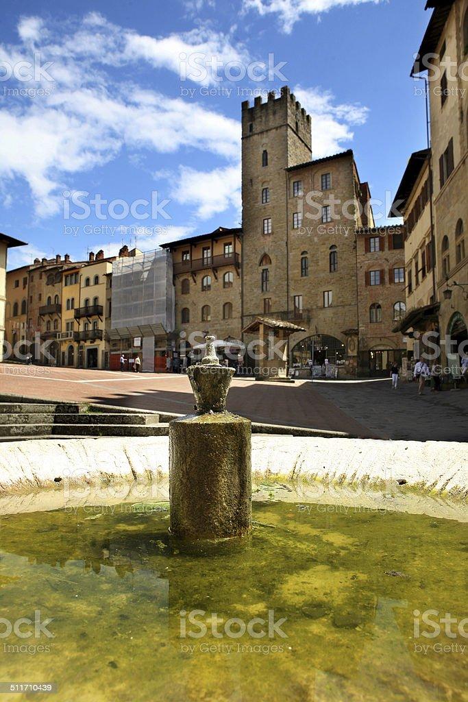 arezzo stock photo