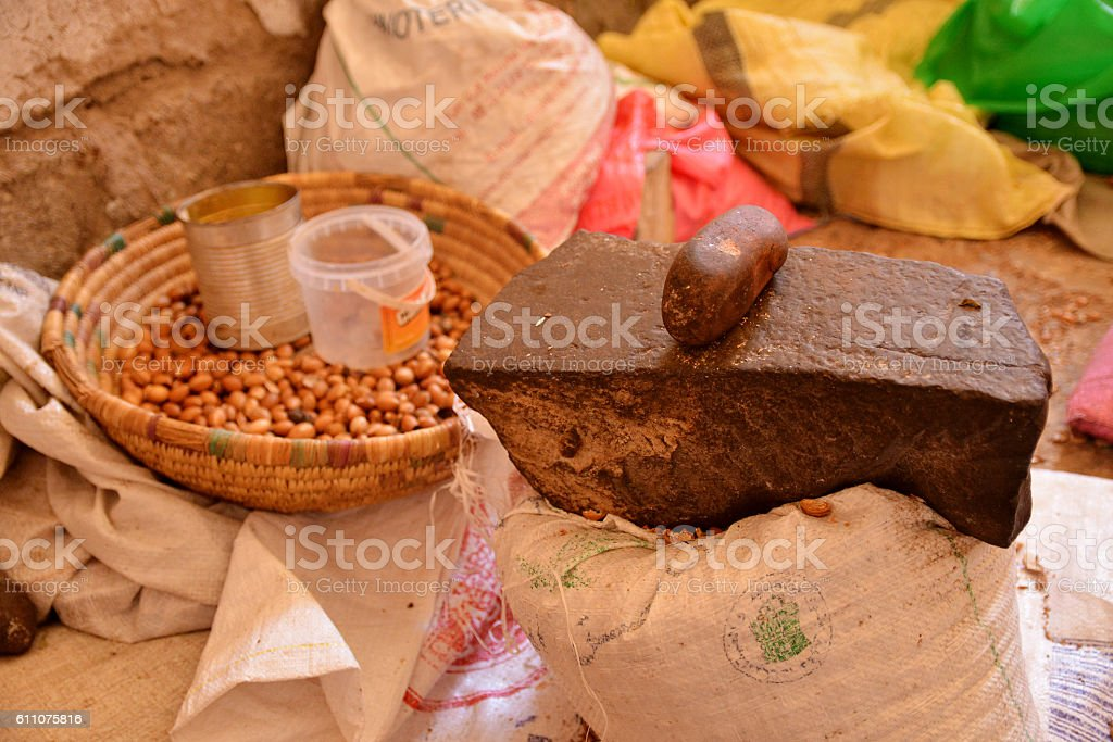 argan capra stock photo