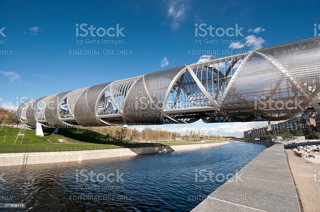 Arganzuela Bridge stock photo