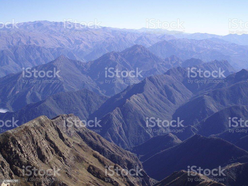 Andes Argentinos stock photo