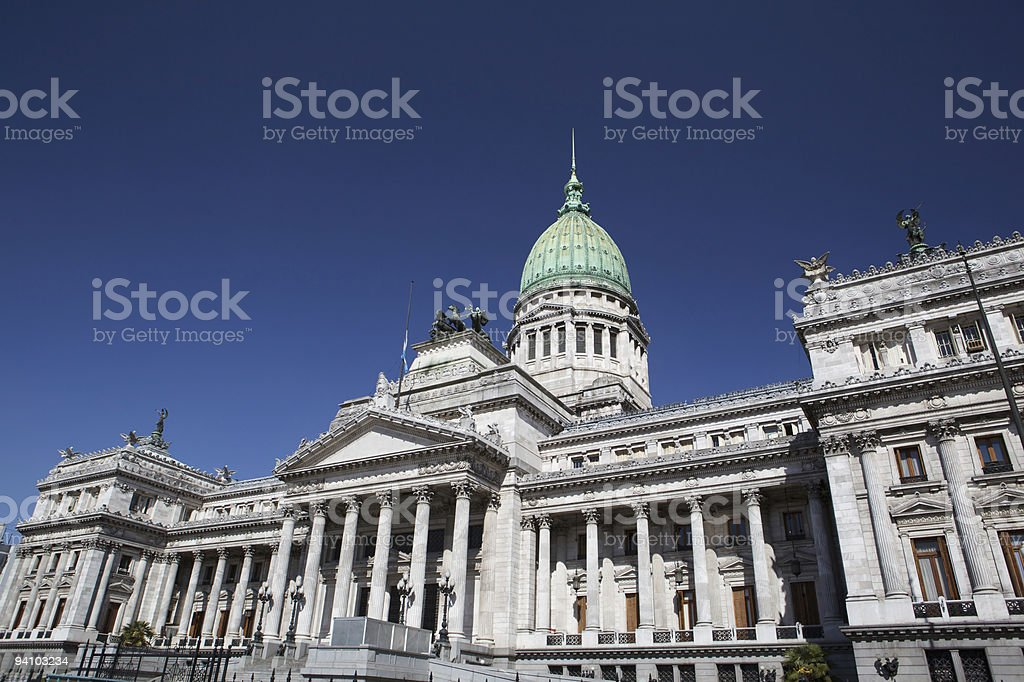 Argentina, Buenos Aires, Palace of Congress, exterior royalty-free stock photo