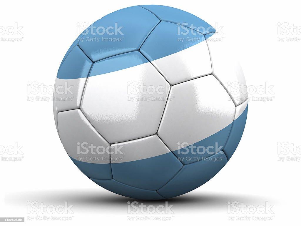 Argentina Football royalty-free stock photo