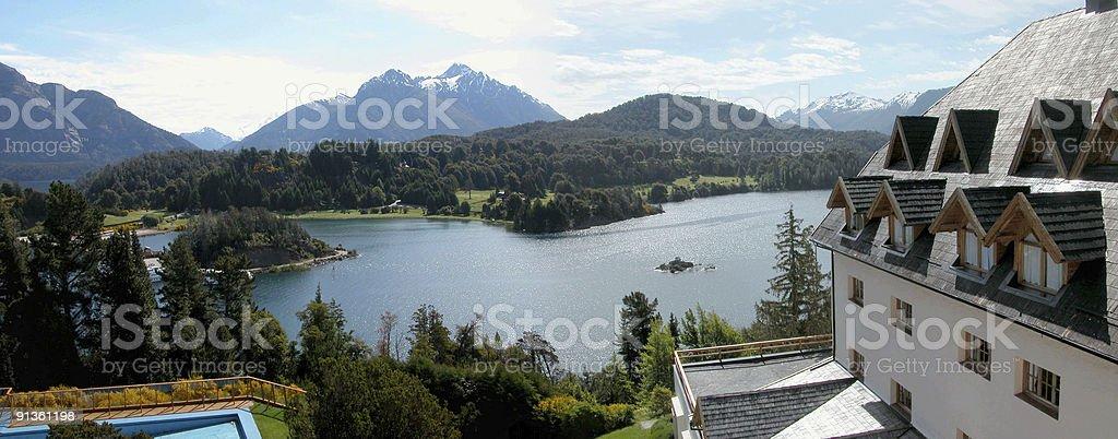 Argentina landscapes - Bariloche royalty-free stock photo