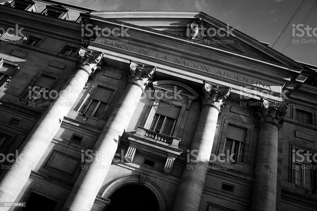 Argentina National Bank stock photo