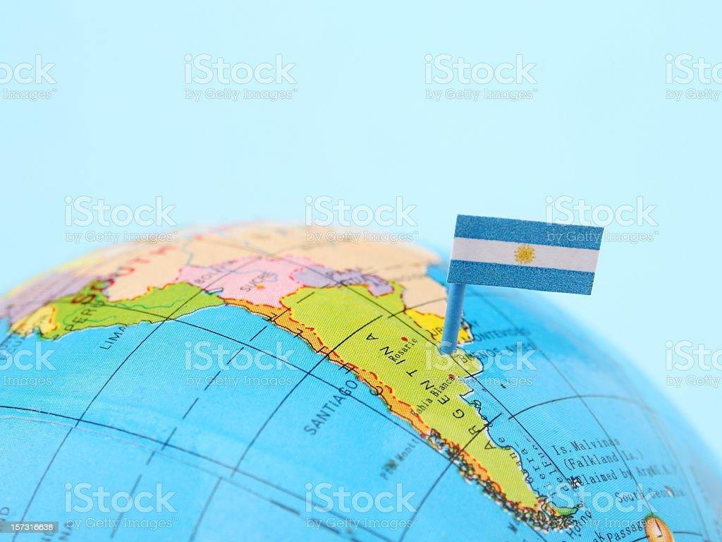 Argentina royalty-free stock photo