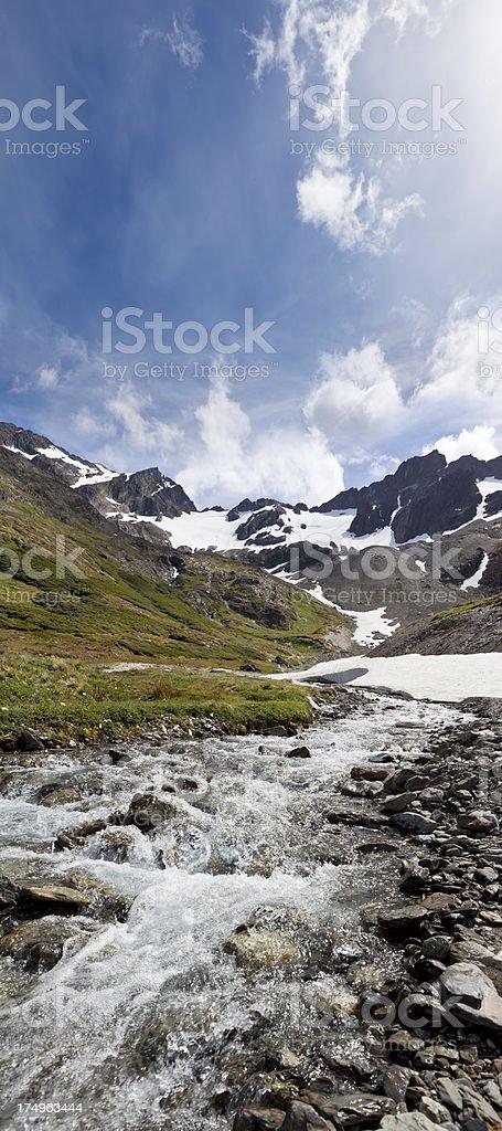 Argentina Ushuaia Glacier Martial stock photo