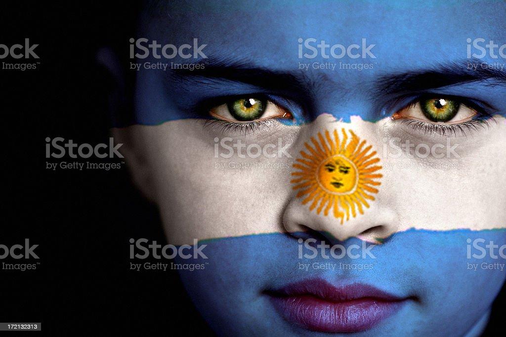Argentine boy royalty-free stock photo