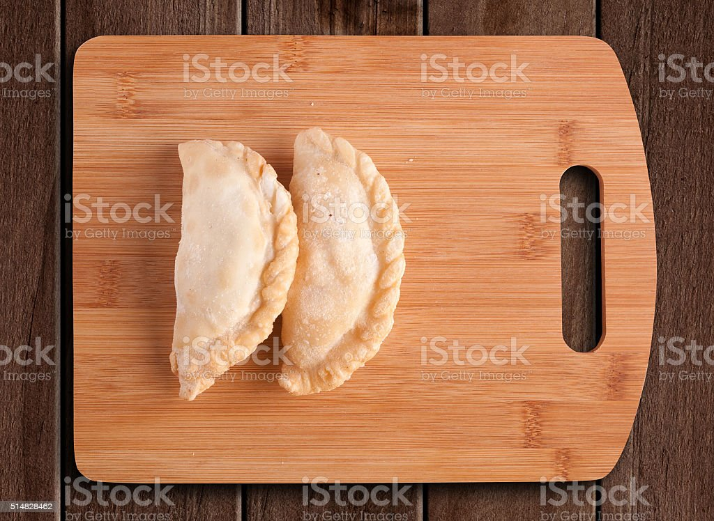 Argentine empanadas. stock photo