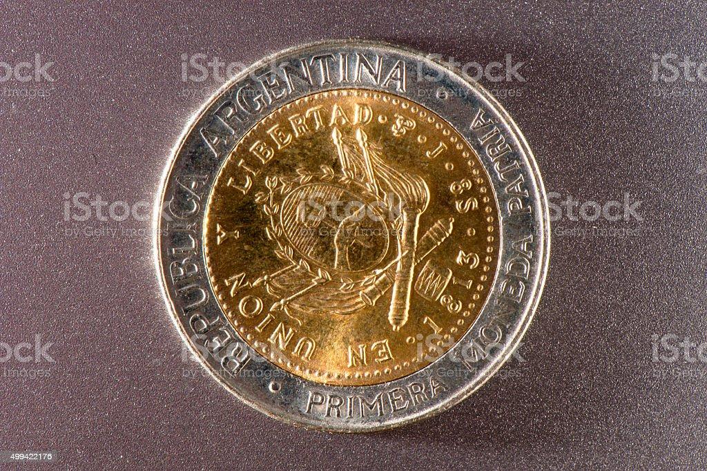 Argentine Peso stock photo