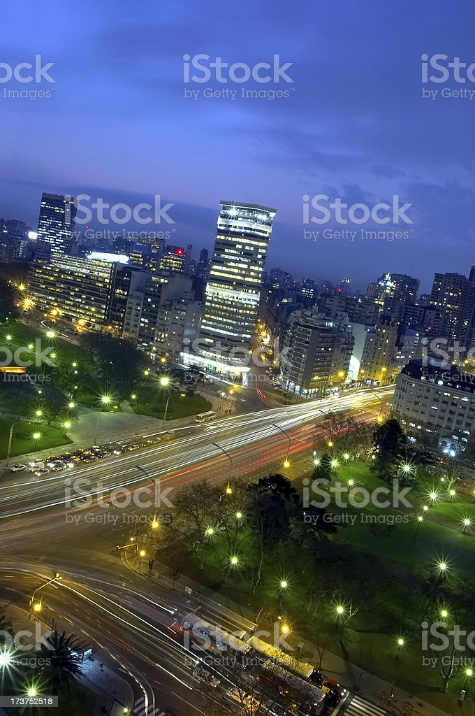 Argentine, Retiro square royalty-free stock photo