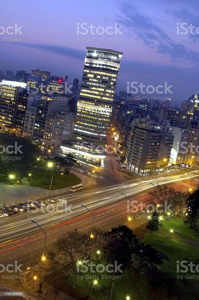 Argentine, Retiro square royalty-free stock photo