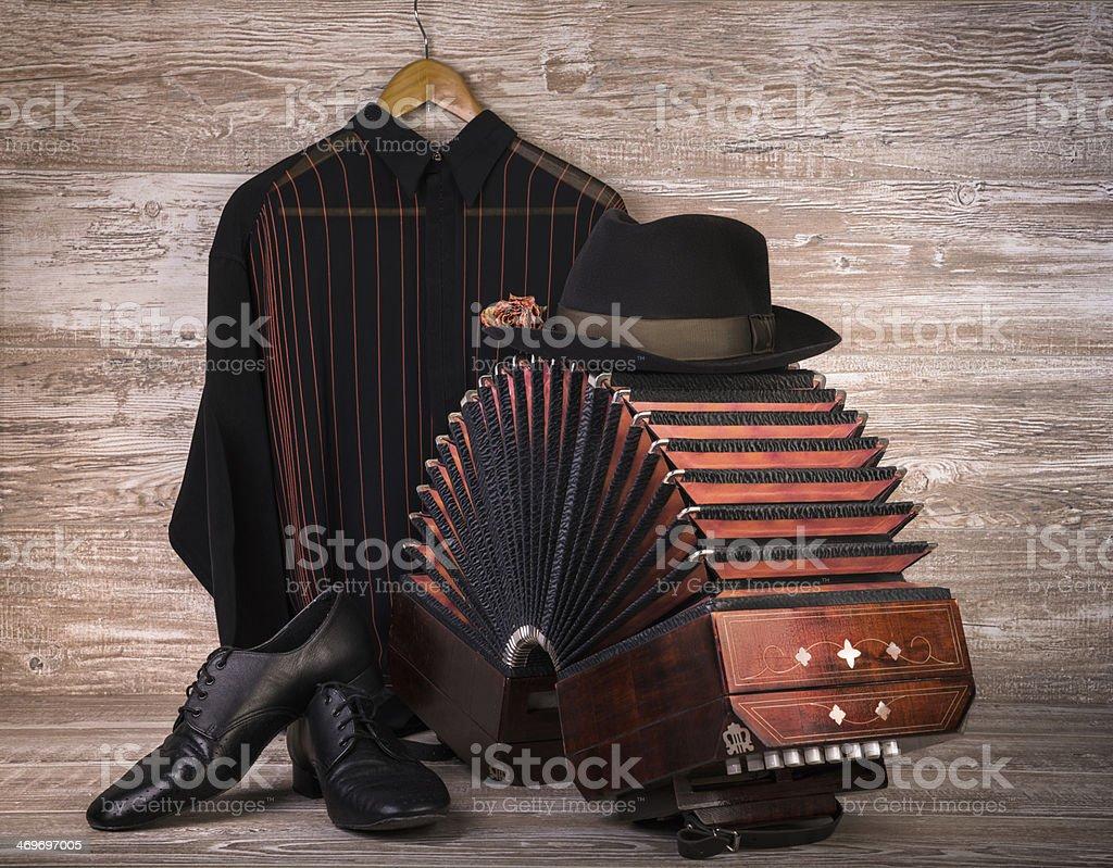 Argentine tango stock photo