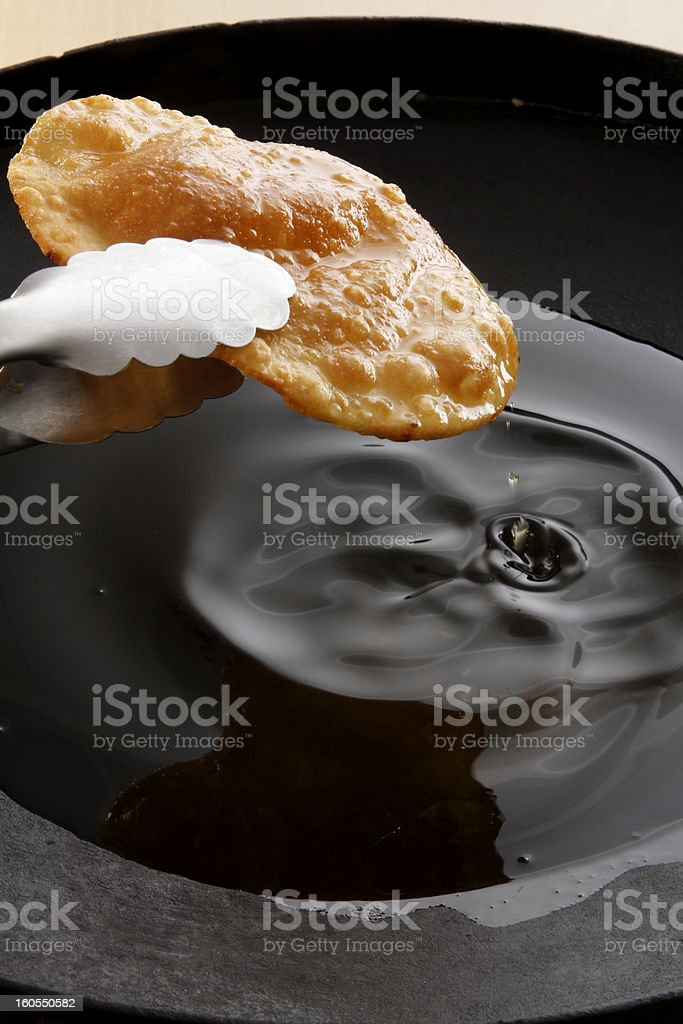 Argentine 'tortas fritas' royalty-free stock photo