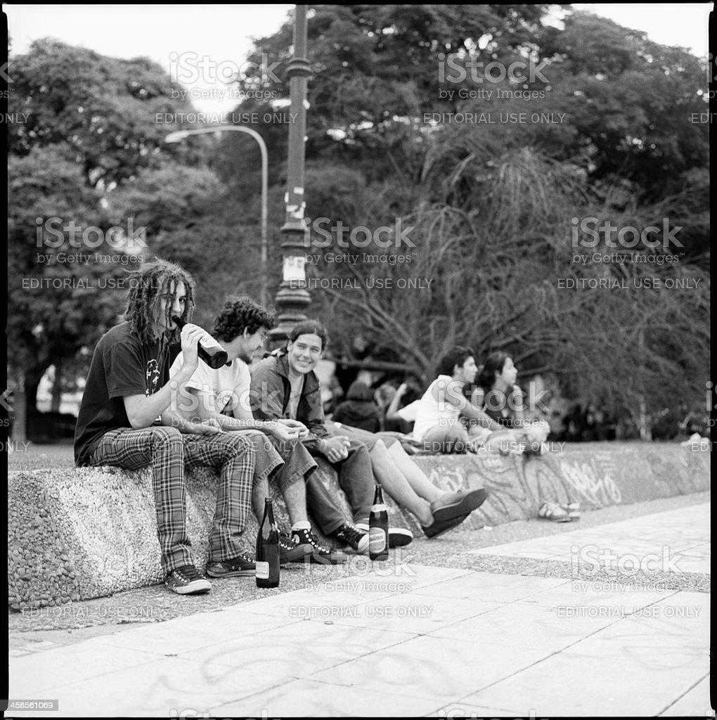 Argentine Youths royalty-free stock photo