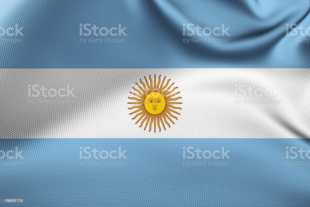 Argentinean Flag royalty-free stock photo