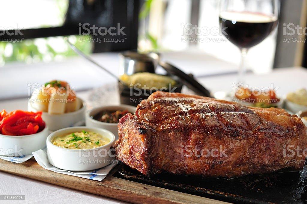 Argentinian Beef steak stock photo