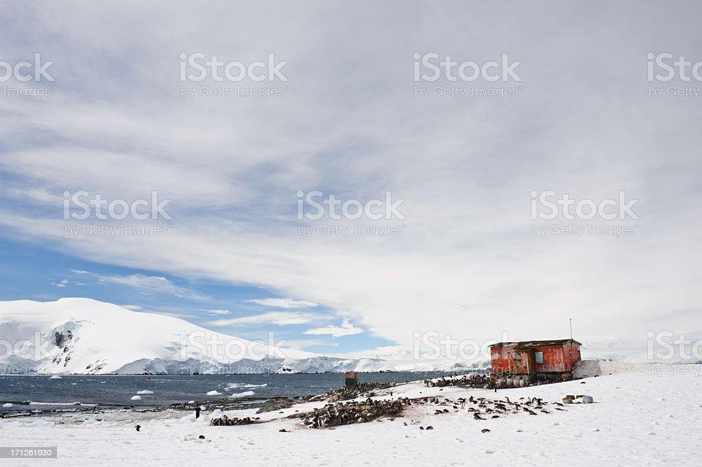 Argentinian hut royalty-free stock photo
