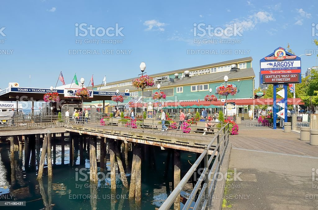 Argosy Cruises, Seattle royalty-free stock photo