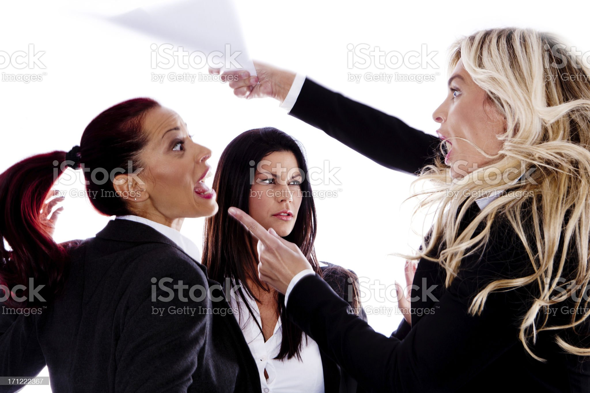 Argument royalty-free stock photo