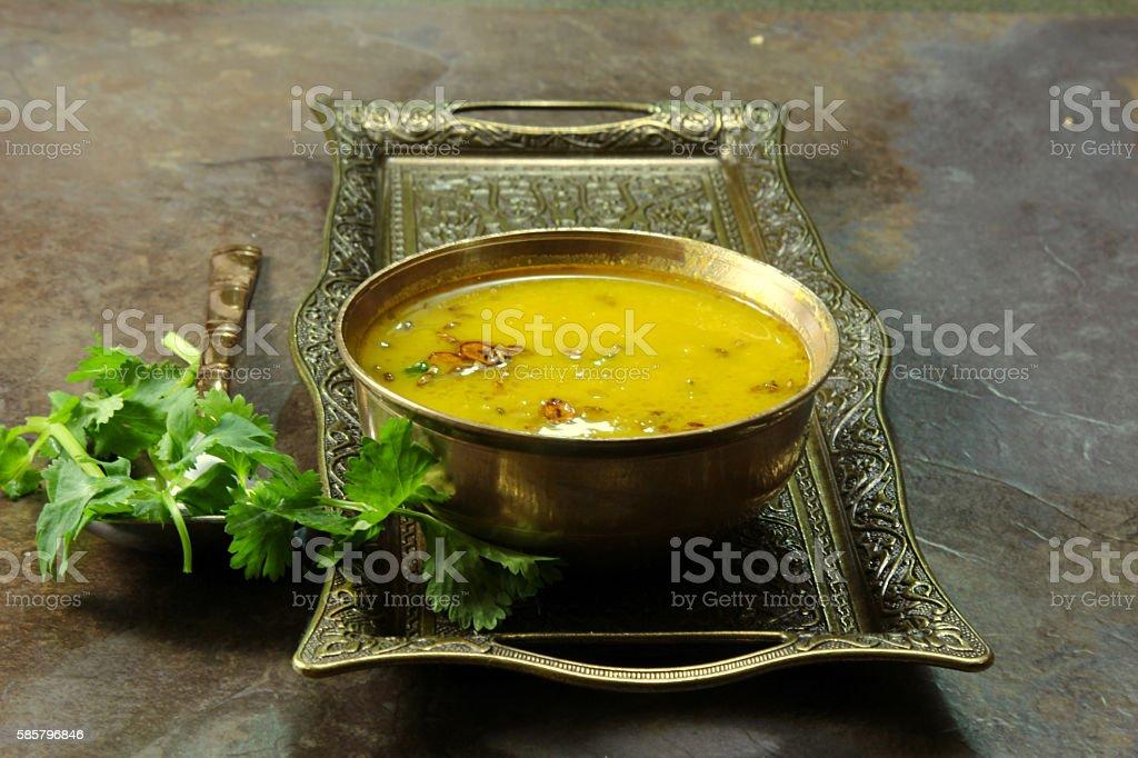 Arhar Daal stock photo