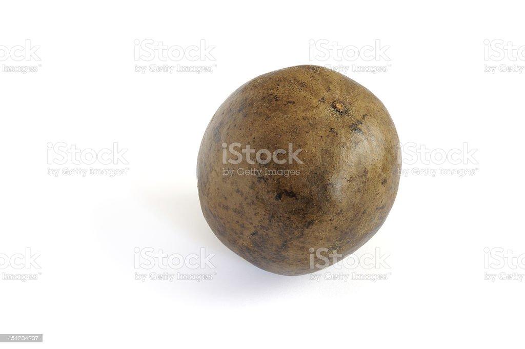 Arhat fruit(lo han kuo) isolated stock photo