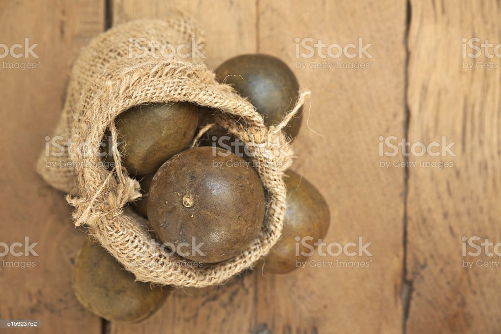 Arhat Fruit stock photo