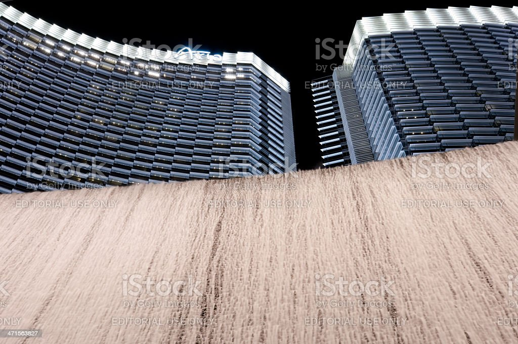 Aria Hotel royalty-free stock photo