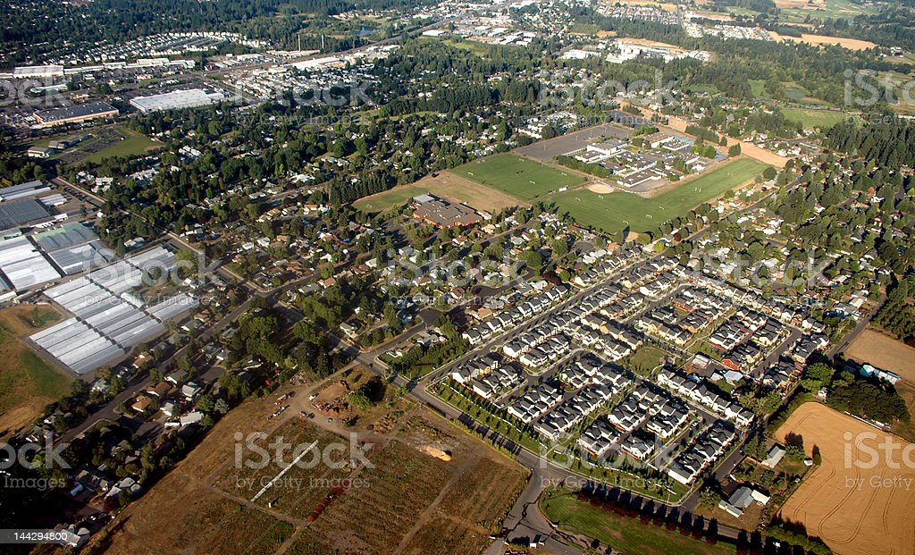 Arial Photography stock photo