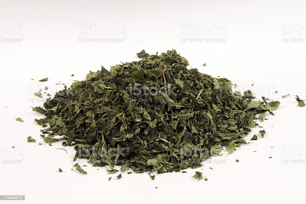 Arid Mint stock photo